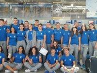 H Εθνική ομάδα πεταξε για το Ολυμπιακό Φεστιβάλ Νεότητας