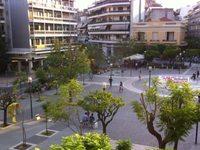 Η Πλατεία Μιχαήλ Μπέλλου στο Αγρίνιο που μετονομάστηκε κατά τη δικτατορία