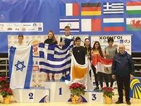 Πέντε χρυσά μετάλλια Άκης Σωτηρόπουλος και Κωνσταντίνα Βαγενά στην Κύπρο
