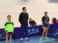 Διακρίσεις πατρινών στο αναπτυξιακό πρωτάθλημα πινγκ πονγκ