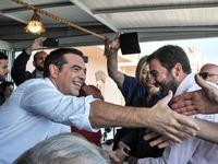 Κάλεσμα Τσίπρα από τα Χανιά στους δημοκρατικούς πολίτες