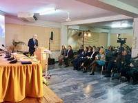 Ο Άγγελος Τσιγκρής μίλησε στην Πάτρα για τη βία και τις διακρίσεις κατά των ηλικιωμένων