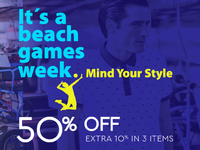 """It's a beach games week"": Mind your Style by DUR!"