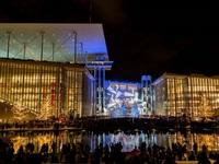 40.000 κόσμος στη φωταγώγηση του Νιάρχος, παγοδρόμιο και συντριβάνια που «χόρευαν»