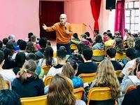 Ομιλία του Άγγελου Τσιγκρή στο 33ο Δημοτικό Σχολείο της Πάτρας για την κακοποίηση των παιδιών