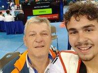 Στο ευρωπαϊκό πρωτάθλημα νέων τάε κβον ντο ο Αντώνης Πανόπουλος