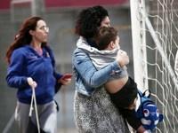 Εισβολή κουκουλοφόρων και διακοπή στο Ολυμπιακός-Μπάγερν για το Youth League! (ΣΟΚΑΡΙΣΤΙΚΕΣ ΕΙΚΟΝΕΣ)