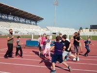 Κοντά στον αθλητισμό τα παιδιά του 1ου Δ.Σ. Πάτρας (ΦΩΤΟ)