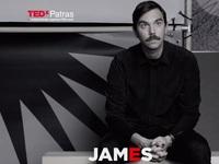 Στο φετινό TEDxPatras και ο Βρετανός συγγραφέας & καλλιτέχνης James Bridle