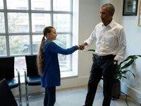 Ομπάμα σε Γκρέτα: Εσύ κι εγώ είμαστε ομάδα
