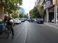 Αστυνομική επιχείρηση για την εκκένωση κτιρίου στην Αχαρνών