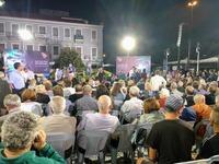 Πάτρα: Σε λίγο η εκδήλωση με τον Αλ. Τσίπρα στην Τριών Συμμάχων