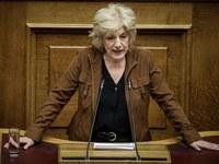 Η Σία Αναγνωστοπούλου στη Βουλή για την Συνταγματική Αναθεώρηση- ΒΙΝΤΕΟ