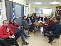 Συνάντηση του Δημάρχου Μεσολογγίου με κατοίκους του Αιτωλικού για την Λιμνοθάλασσα