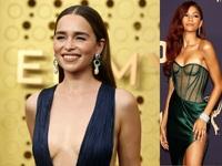 Η πασαρέλα των Emmy's: Εμίλια Κλαρκ και Ζεντάγια ζάλισαν τα φλας