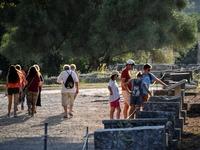 Λιποθυμίες λόγω καύσωνα τις προηγούμενες μέρες στην Αρχαία Ολυμπία