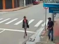 Εν ψυχρώ εκτέλεση άστεγης στην Βραζιλία- ΣΚΛΗΡΕΣ ΕΙΚΟΝΕΣ