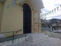 Στην τελική ευθεία οι εργασίες στο ναό των Αγ. Αγγέλων στο Α' νεκροταφείο Πατρών - ΔΕΙΤΕ ΦΩΤΟ
