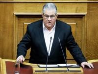 Δ. Κουτσούμπας σε πολιτικούς αρχηγούς: Είστε όλοι ταγμένοι σε ΗΠΑ – ΝΑΤΟ – ΕΕ