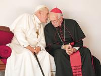 """Έρχονται 12 Δεκεμβρίου 2019 οι """"Δύο Πάπες"""" με Α. Χόπκινς & Τζόναθαν Πράις"""