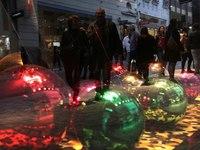 Φωτίζεται Χριστουγεννιάτικα το Μεσολόγγι