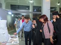 Εγκαινιάστηκε στο Αγρίνιο η 1η ατομική έκθεση γλυπτικής του Ευάγγελου Τύμπα -ΔΕΙΤΕ ΦΩΤΟ