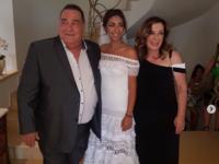 Ο Βασίλης Καρράς πάντρεψε την κόρη του!