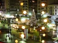 Χριστούγεννα στην Πάτρα: Όλα έτοιμα για το άναμμα του δέντρου