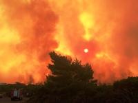 Υπό μερικό έλεγχο πυρκαγιά στο δήμο Παιονίας Κιλκίς