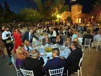 Το επίσημο δείπνο των Μεσογειακών Παράκτιων Αγώνων - ΦΩΤΟ