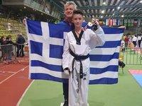 Χρυσό μετάλλιο στο ευρωπαϊκό Παμπαίδων ο Απόστολος Παναγόπουλος