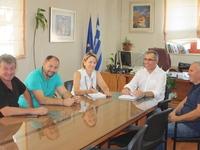 Σχέδια για δράσεις συνεργασίας Δήμου Πατρέων και Δήμου Ερυμάνθου