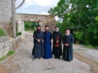 Ο Άνθιμος Ανανιάδης Μοναχός με μούσι και ράσα...