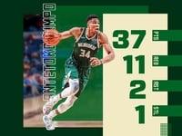 «Βασιλεύοντας» στο NBA ο... «διπλός» Αντετοκούνμπο - ΒΙΝΤΕΟ