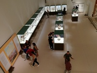 """""""Η Πάτρα της Μεσογείου"""" Έκθεση στο Μουσείου- Στα εγκαίνια η υπουργός Πολιτισμού"""