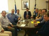 Οι αθλητικοί συντάκτες συναντήθηκαν με τον Λ. Αυγενάκη
