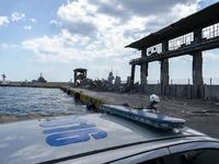 Κατέρρευσε ο ιστορικός ταινιόδρομος στο λιμάνι του Πειραιά