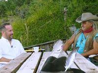 Ο ερημίτης ινδιάνος που ζει σε μια αετοφωλιά της ορεινής Ναυπακτίας