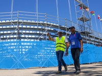 Ικανοποίηση του προέδρου της ΔΕΜΑ Amar Addadi για τις εγκαταστάσεις των Μεσογειακών - ΦΩΤΟ