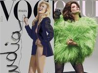 Πανέμορφες στα 50: Kλόντια Σίφερ και Στέφανι Σέιμουρ έκαναν striptease για την ιταλική Vogue