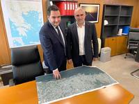 Επαφές του Παν. Τσώνη στην ΕΡΓΟΣΕ για τη σιδηροδρομική σύνδεση του λιμανιού της Πάτρας