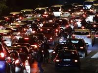 Τώρα! Κυκλοφοριακό «χάος» στην έξοδο της Περιμετρικής στα Μποζαΐτικα
