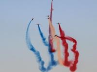 Η «Patrouille de France» εκτόξευσε την αδρεναλίνη στα ύψη