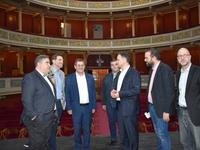 """""""Αυτοψία"""" του γ.γ. του υπουργείου Πολιτισμού στο θέατρο Απόλλων της Πάτρας"""