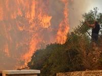 Yψηλός ο κίνδυνος πυρκαγιάς αύριο σε Αχαΐα και σε περιοχές της Ηλείας
