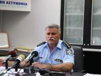 Ο Νικόλαος Σπανουδάκης νέος Γενικός Περιφερειακός Αστυνομικός Διευθυντής Δυτικής Ελλάδος