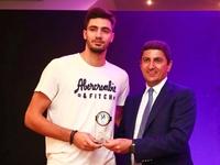 Κορυφαίος νέος παίχτης της σεζόν ο Αλέξανδρος Ράπτης