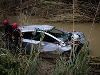 Βέροια: Παρασύρθηκε οδηγός από ποτάμι - Τον ψάχνουν - ΒΙΝΤΕΟ