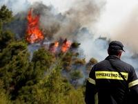 Σε καλό δρόμο η κατάσβεση της φωτιάς στην Εξοχή Ακράτας