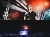 Φλας: Το πολύκροτο, παραλιακό live του Νίκου Οικονομόπουλου θύμιζε… Nammos